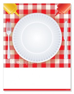 Designer Papers cookout letterhead